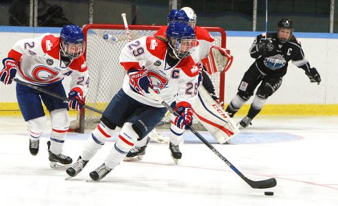 Les Canadiennes – The Puck Has Dropped with a 2 Game Sweep!'