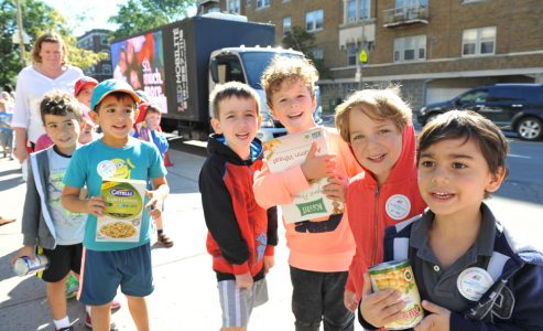 "Mazel Tov! To Federation CJA on their ""Feed the Truck"" Event"