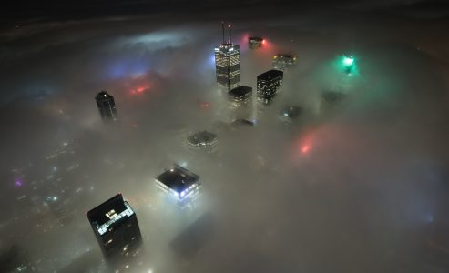 Toronto Fog Alert by Environment Canada – Photo contest win $50 from the Toronto Times