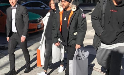 The Weeknd brings girlfriend, Selena Gomez, home to Toronto