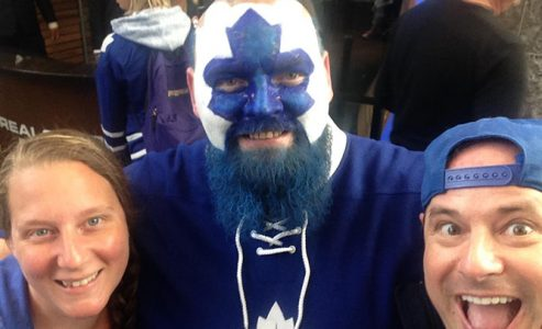 Toronto Maple Leaf Fans 001 Tailgate Party #goleafsgo