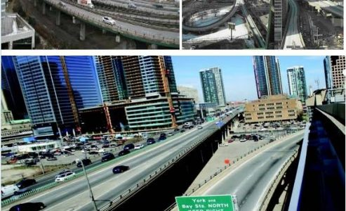 Parts of Gardiner Expressway and DVP Highways Will Temporary Close