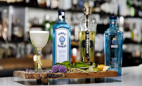 Bombay Sapphire Gin Best Bartender competition -Toronto's Most Imaginative Bartender