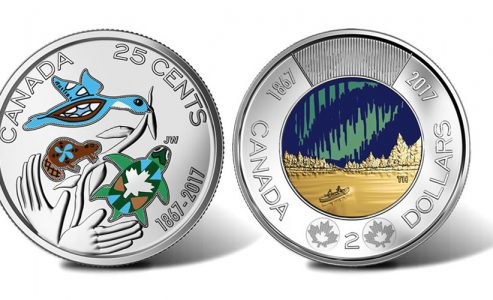 Canada's 150th Glowing Coins and 3-D Bills