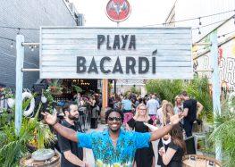 Cool Cocktails Kick Off Summer at Playa Bacardi's Pop-Up Island Bar