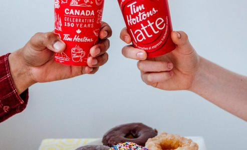 Tim Hortons Treats Us With New 'Canada 150' Menu Items
