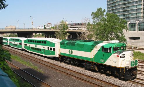 Go Train cancelled at Oakville due to public accident