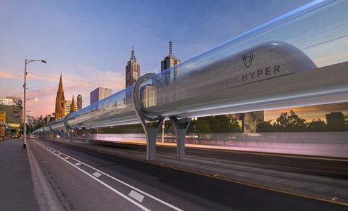 Toronto to Montreal Hyperloop Train in under 40 minutes
