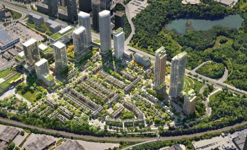 Massive Community Planned For Don Mills And Eglinton Area
