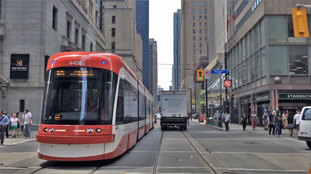 Streetcar on King Street