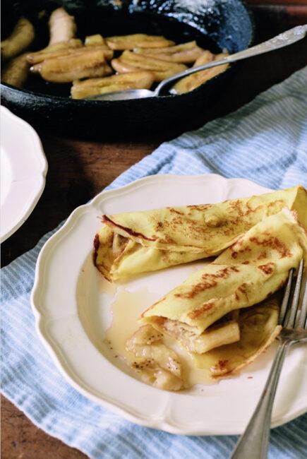 Banana Crepes recipe