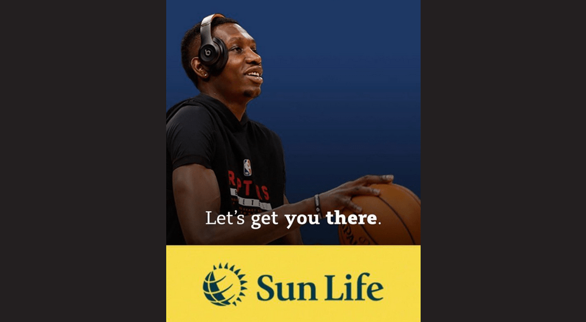 Raptors Chris Boucher teams up with Sun Life