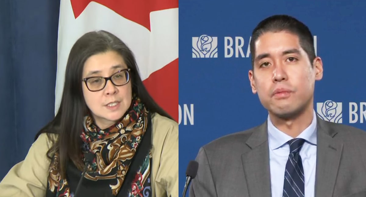 Dr. de Villa and Dr Loh recommend Toronto and Peel remain in grey lockdown