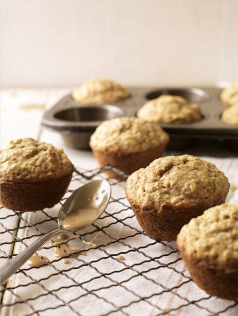 Maple Walnut muffins by Ken Haedrich
