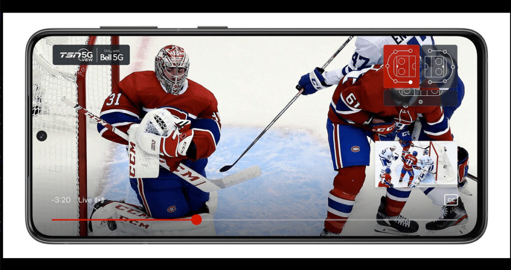 NHL Immersive 5G experience launches on TSN