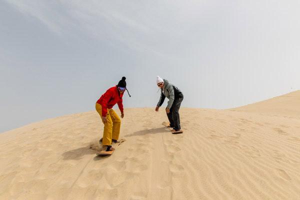 Go snowboarding in Qatar