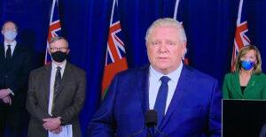 Doug Ford announces provincewide shutdown