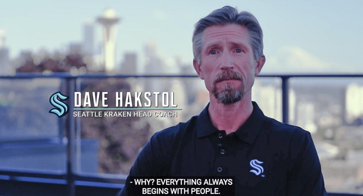 Seatlle Kraken names DAve Hakstol first head coach in team history