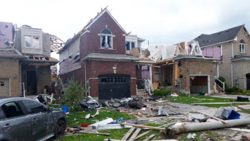 EF-2 tornado touches down in south Barrie