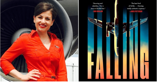Falling - a summer airplane thriller by T.J. Newman