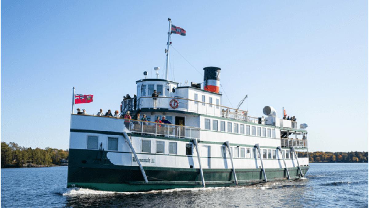 Set sail for summer with a Muskoka Steamships cruise on beautiful Lake Muskoka