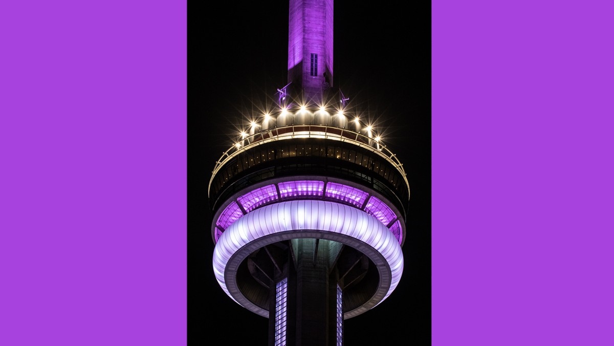 CN Tower and Niagara Falls to be illuminated purple to celebrate launch of WeThe15