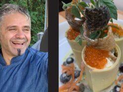 Chef Gerardo's Salmon Canella recipe