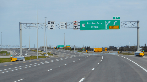 Toronto's Highway 427 expansion opens