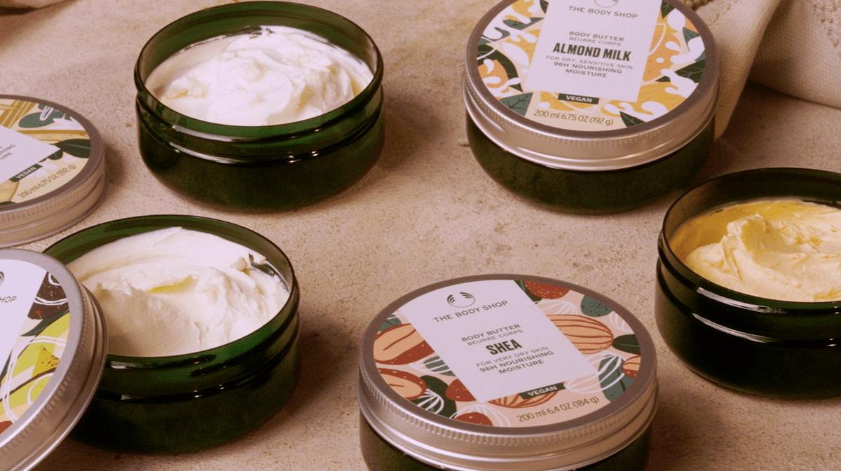 New Body Shop Body Butter is vegan