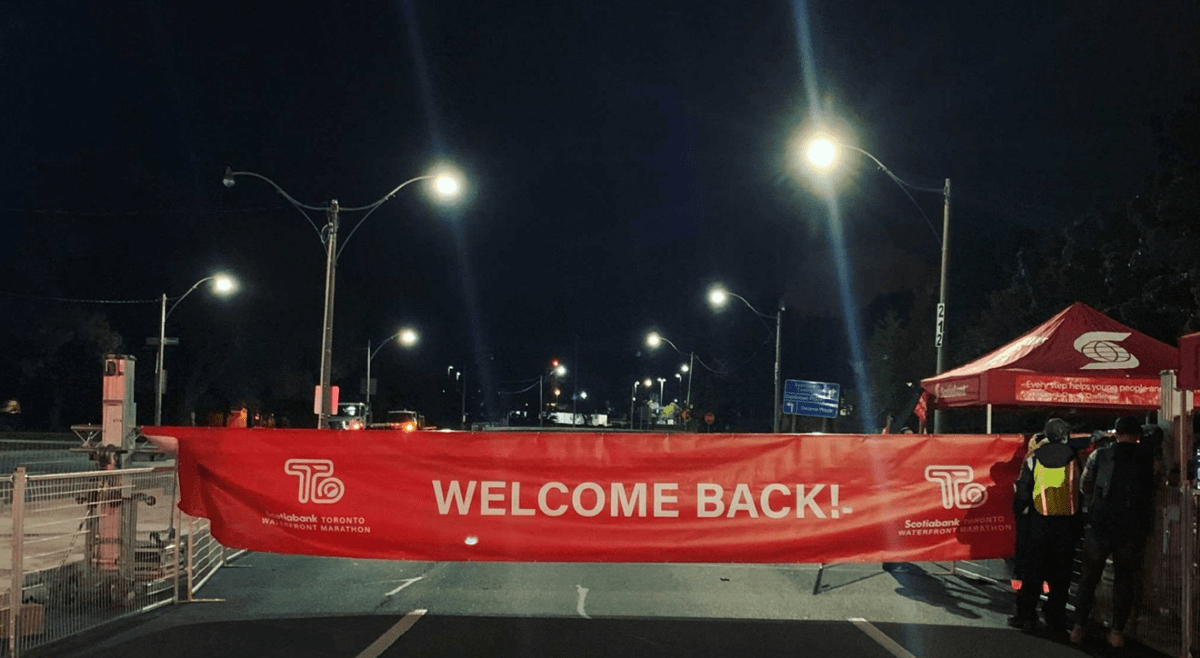 Toronto's first in-person running event sees record turnout